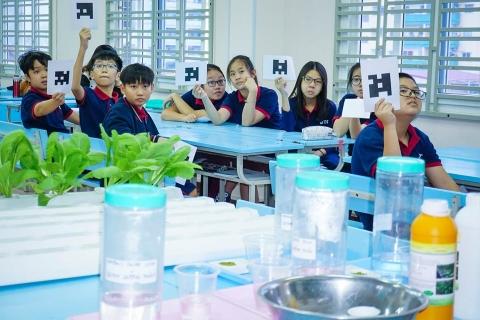 Ấn tượng giờ dạy chuyên đề Phát huy năng lực sáng tạo qua việc thiết kế thí nghiệm trồng cây thuỷ canh