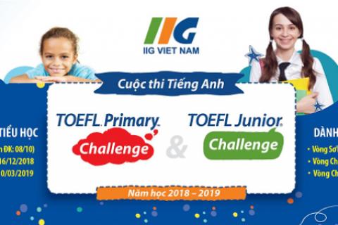 Thông báo về cuộc thi Vô địch TOEFL Junior 2018 - Vòng 2
