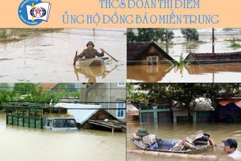 Thư kêu gọi ủng hộ đồng bảo miền Trung bị thiệt hại do mưa lũ