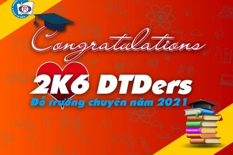 Khối 9 ĐTĐ tiếp tục chinh phục danh hiệu Thủ khoa các trường THPT chuyên top đầu Hà Nội
