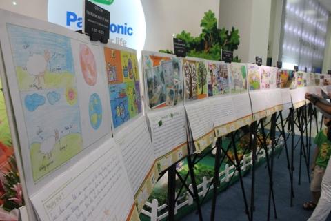 Thể lệ cuộc thi Panasonic Nhật ký xanh 2012