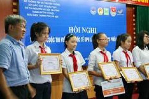 Bức thư đạt giải cuộc thi Viết thư quốc tế UPU của nữ sinh Đoàn Thị Điểm