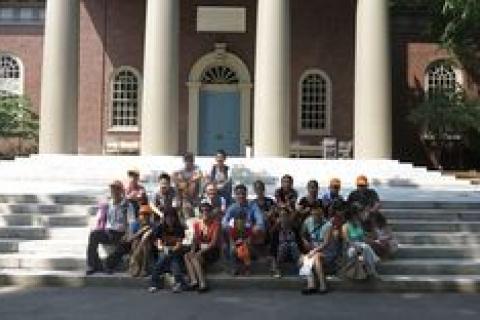 Cập nhật hình ảnh đoàn du học hè 2013 tại Hoa Kỳ