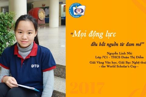 Nguyễn Linh Nhi – Mọi động lực đều bắt nguồn từ đam mê