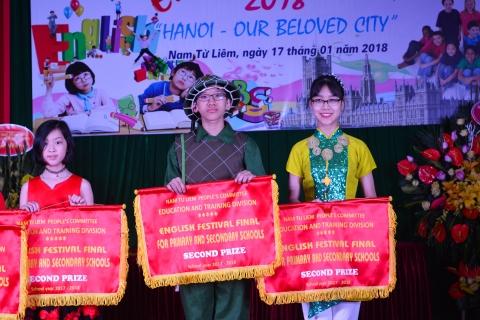 Hành trình đoạt giải Nhì Festival Tiếng Anh quận Nam Từ Liêm của THCS Đoàn Thị Điểm