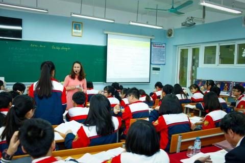Cô Lưu Thị Loan gây ấn tượng với buổi thi GVG cấp Thành phố môn Lịch sử