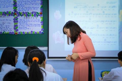 Cô Phạm Minh Tâm hoàn thành xuất sắc buổi thi GVG cấp Thành phố môn Ngữ Văn
