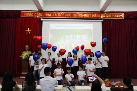 Lan toả niềm đam mê với ngày hội Pháp ngữ 2018 của THCS Đoàn Thị Điểm