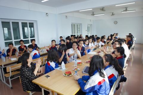 Tự hào với 55 HS Đoàn Thị Điểm được tham gia kỳ thi HS giỏi cấp Thành phố