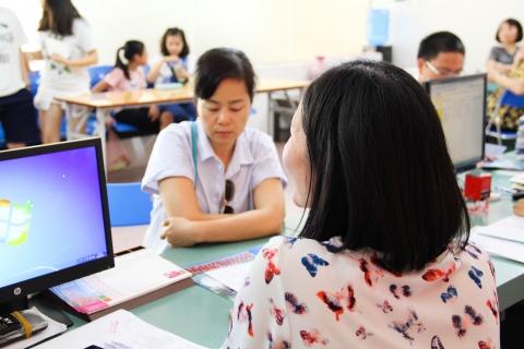 Thông báo về việc hoàn thiện thủ tục đăng ký dự tuyển học sinh vào lớp 6 năm học 2018 - 2019
