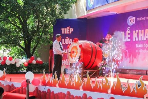 Tiếp lửa truyền thống – Lễ khai giảng nhiều ý nghĩa của năm học  2018 – 2019