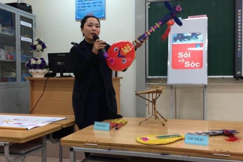 Kinh nghiệm giảng dạy cô giáo Nguyễn Hồng Nhung