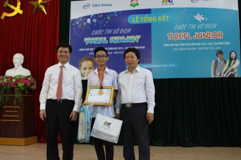 Thông báo về Vòng 2 kỳ thi TOEFL Junior Challenge 2016